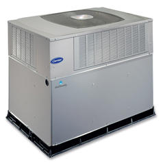 Infinity™ Series Packaged Gas Furnace and Air Conditioner System